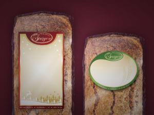 etykiety na chleb